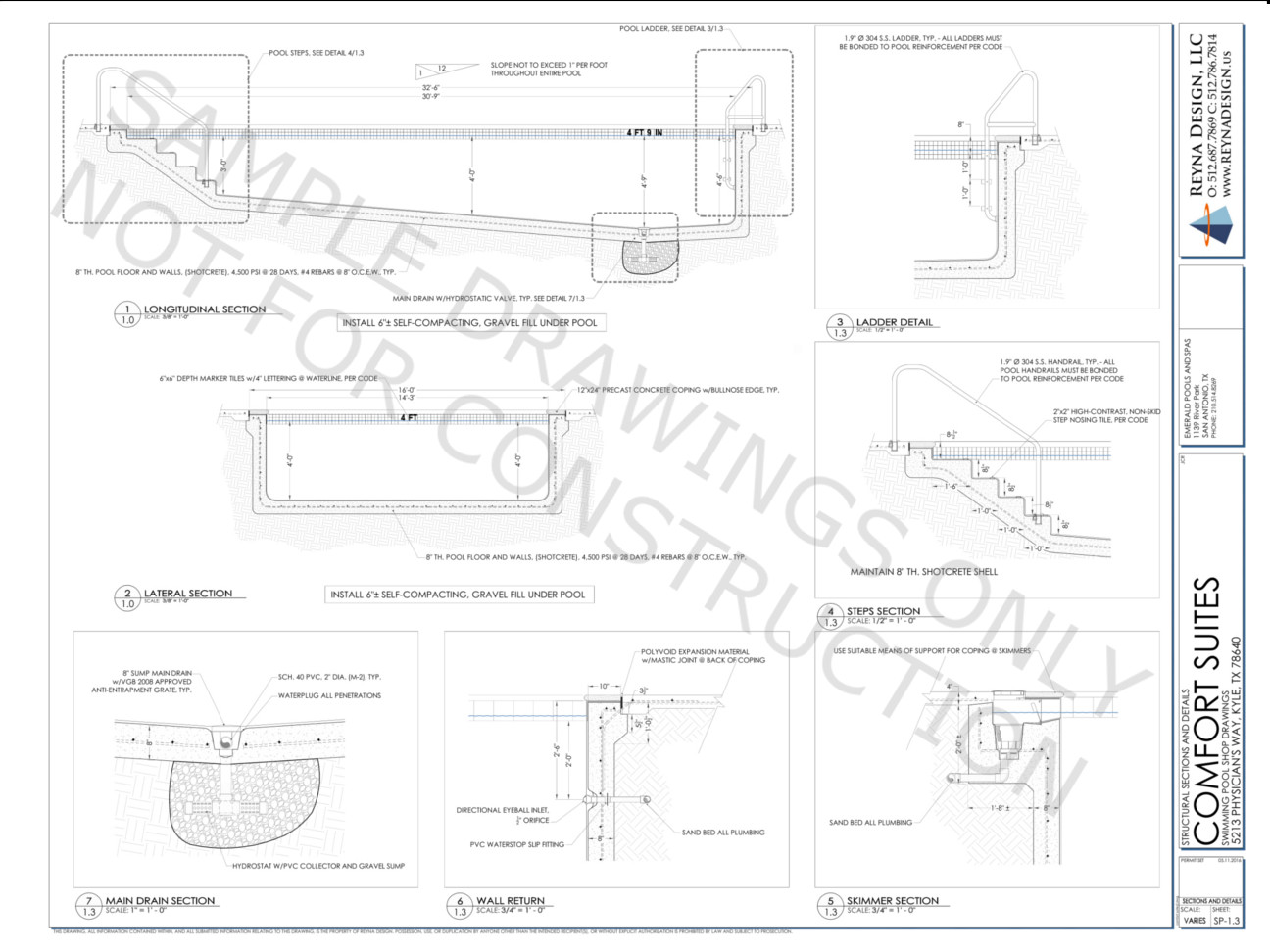 Swimming pool structural design amazing structural design of swimming pool within swimming pool for Structural design of swimming pool pdf