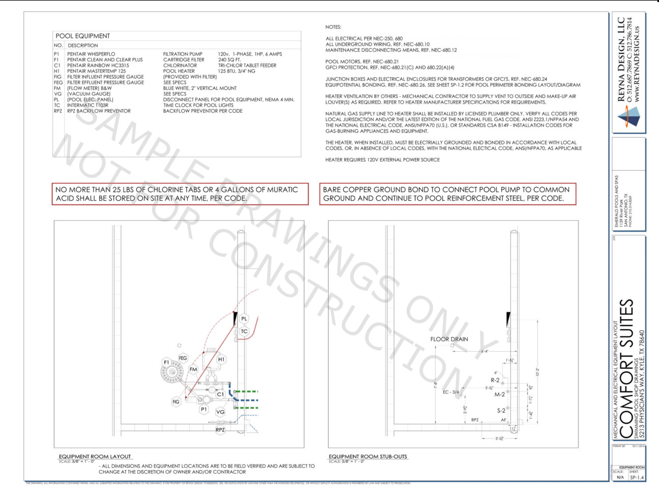 Pool Equipment Room Diagram Schematic Diagrams Filtration System Reyna Design